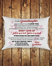 MY Granddaughter - Grma Rectangular Pillowcase aos-pillow-rectangle-front-lifestyle-2
