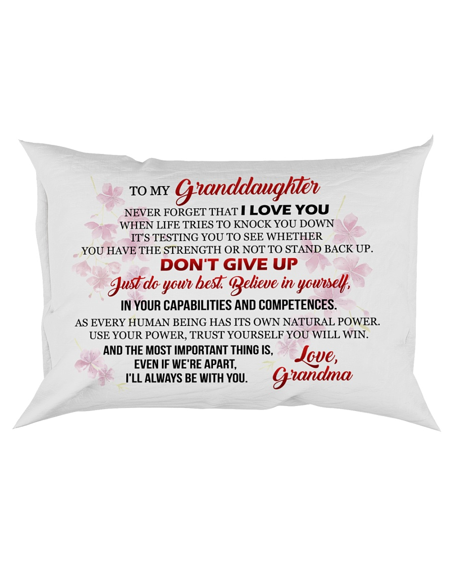 MY Granddaughter - Grma Rectangular Pillowcase