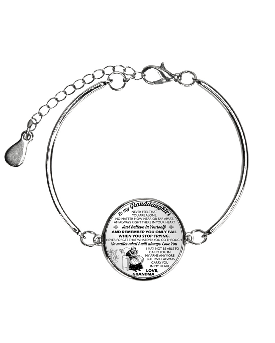 MY GRANDDAUGHTER  Metallic Circle Bracelet