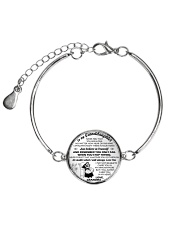 MY GRANDDAUGHTER  Metallic Circle Bracelet front