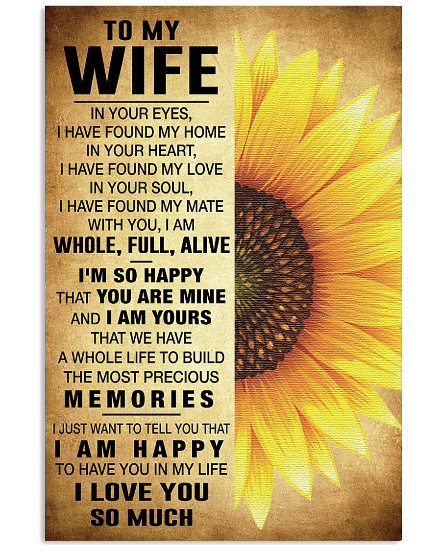 MY WIFE - HWMM566 24x36 Poster