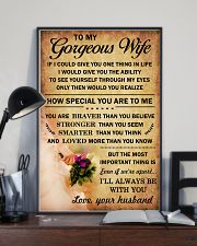 MY GORGEOUS WIFE - HW469A 16x24 Poster lifestyle-poster-2