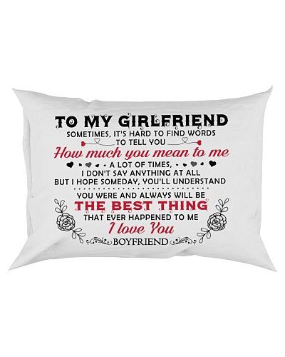 TO GIRLFRIEND