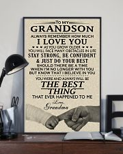 MY GRANDSON 24x36 Poster lifestyle-poster-2