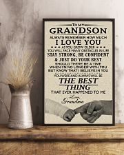 MY GRANDSON 24x36 Poster lifestyle-poster-3