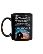 TO MY WIFE Mug back