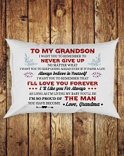 MY GRANDSON Rectangular Pillowcase aos-pillow-rectangle-front-lifestyle-2