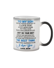 MY SON - MOM Color Changing Mug thumbnail