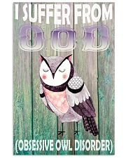 Owl 11x17 Poster front