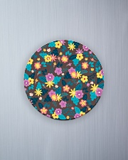 Beautiful arrangement floral Gifts Flower Lovers  Circle Magnet aos-magnets-round-front-lifestyle-1