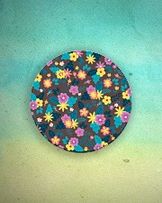Beautiful arrangement floral Gifts Flower Lovers  Circle Magnet aos-magnets-round-front-lifestyle-3