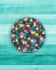 Beautiful arrangement floral Gifts Flower Lovers  Circle Magnet aos-magnets-round-front-lifestyle-5