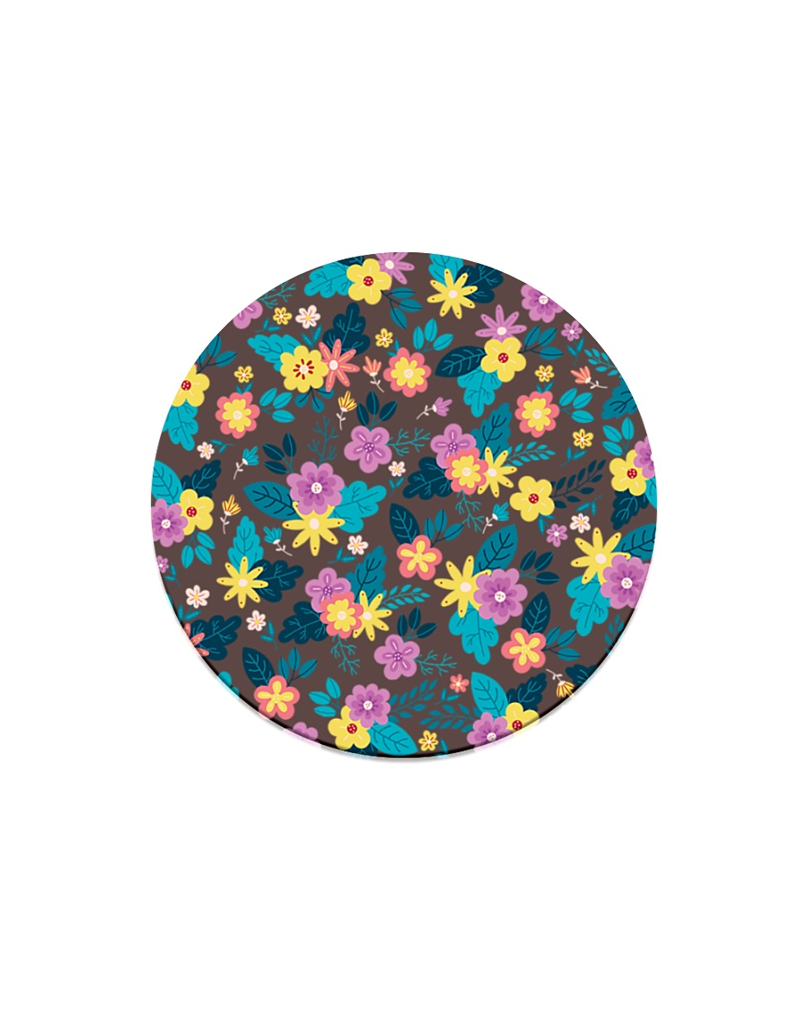Beautiful arrangement floral Gifts Flower Lovers  Circle Magnet