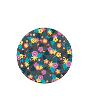 Beautiful arrangement floral Gifts Flower Lovers  Circle Magnet front