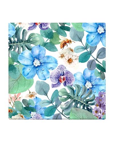 cute flower seamless pattern mask