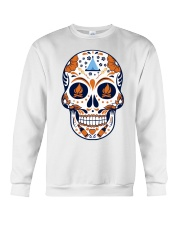 Camping Sugar Skull Crewneck Sweatshirt thumbnail