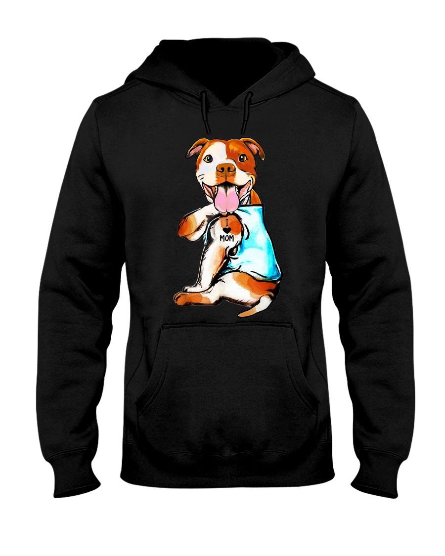 Pitbull Mom Mens Hoodie Pet Dog Mother Hooded Sweatshirt 2B