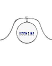 Hook Line Clothing Metallic Circle Necklace thumbnail