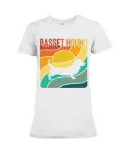 BASSET HOUND Premium Fit Ladies Tee thumbnail