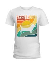 BASSET HOUND Ladies T-Shirt front