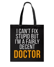 Doctor Funny Gift Tote Bag thumbnail