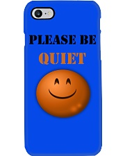 Be Quiet Phone Case i-phone-7-case