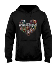 I AM A HORRORAHOLIC Hooded Sweatshirt thumbnail