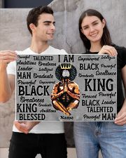 Black king 24x16 Poster poster-landscape-24x16-lifestyle-21