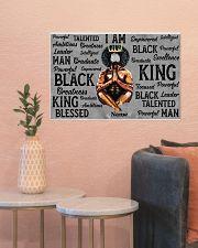 Black king 24x16 Poster poster-landscape-24x16-lifestyle-22