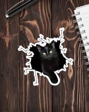 Black Cat Sticker - Single (Vertical) aos-sticker-single-vertical-lifestyle-front-05