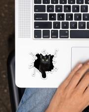 Black Cat Sticker - Single (Vertical) aos-sticker-single-vertical-lifestyle-front-11