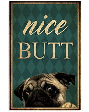 Pug Nice Butt 11x17 Poster front