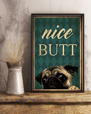 Pug Nice Butt 11x17 Poster lifestyle-poster-3