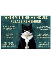 When visiting my house please remember 17x11 Poster front