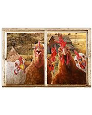 Chickens  36x24 Poster front