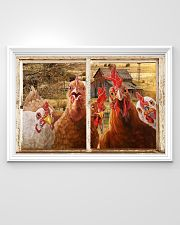 Chickens  36x24 Poster poster-landscape-36x24-lifestyle-02