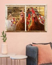 Chickens  36x24 Poster poster-landscape-36x24-lifestyle-18