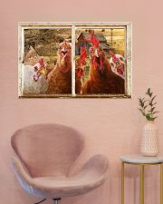 Chickens  36x24 Poster poster-landscape-36x24-lifestyle-19