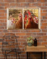 Chickens  36x24 Poster poster-landscape-36x24-lifestyle-20
