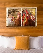 Chickens  36x24 Poster poster-landscape-36x24-lifestyle-23