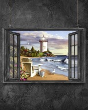 Lighthouse 3 24x16 Poster aos-poster-landscape-24x16-lifestyle-13