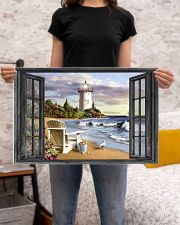 Lighthouse 3 24x16 Poster poster-landscape-24x16-lifestyle-20