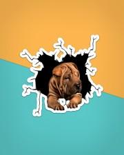 Shar Pei Sticker - Single (Vertical) aos-sticker-single-vertical-lifestyle-front-02