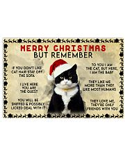 Tuxedo-Christmas 17x11 Poster front