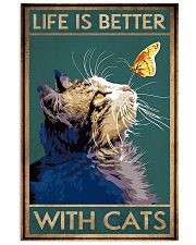 Life Is Better With Cats 11x17 Poster front