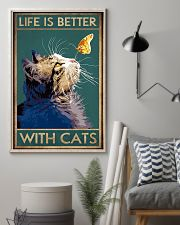 Life Is Better With Cats 11x17 Poster lifestyle-poster-1