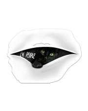 Sticker black cat Sticker - Single (Vertical) front