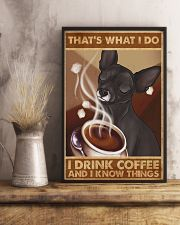 Chihuahua That's What I Do 11x17 Poster lifestyle-poster-3