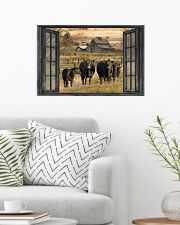 Angus cattle 24x16 Poster poster-landscape-24x16-lifestyle-01
