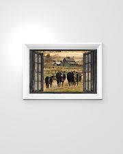 Angus cattle 24x16 Poster poster-landscape-24x16-lifestyle-02